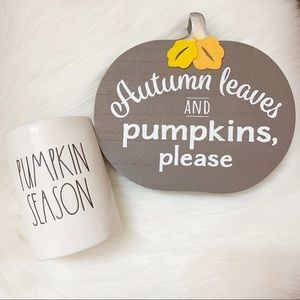 Rae Dunn Pumpkin Season Pumpkin Latte Candle